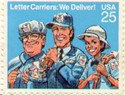 Letter Carriers Stamp